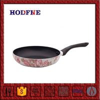 Different Size Non-stick Multicolor Cookware Set Fry Pan Square Metallic Paint Frying Pan With Ceramic Coating Inside Msf-L6174