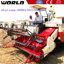 Efficient kubota DC70 rice combine harvester factory price for sale