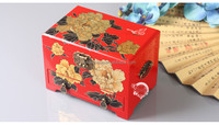 Unique New Product Japanese Style Handmade Wooden Lacquer Jewelry Box Used Art Crafts for Wedding Souvenirs or Home Decoration
