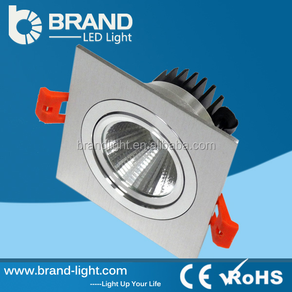 High Luminance CREE Chips High Power 7W LED COB Downlight Square