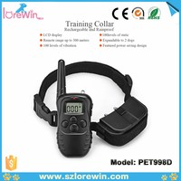 LoreWin LY-998D cheap dog collar Remote Dog Training Equipment