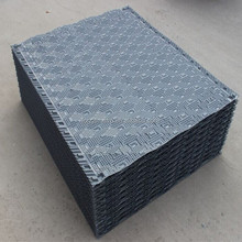 Contemporary promotional PVC cooling tower filler, 1000mm Cooling Tower Infill & Cooling Tower Filling Material