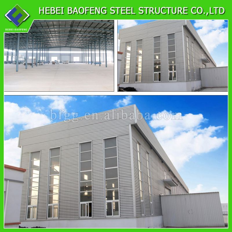 Well welded pioneer steel buildingsbaofeng cheap h beam steel structure materials for sale