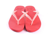Flip flop style EVA outsole luminous glow slippers
