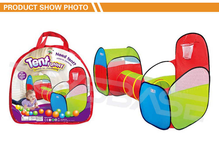 New Sport Toy Tunnel Pop Up Play Tent For Kids