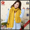 Fashion Lady Scarf Acrylic and Wool Winter Double Knitted Scarf