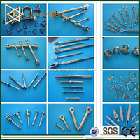 Stainless Steel Wire Rope Railing End Fittings