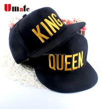 2017 wholesale KING QUEEN snapback hat bulk