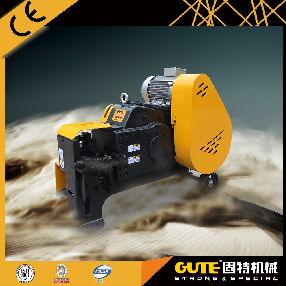 china product top sale electric motor metal bar cutter GQ42D