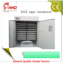 HHD 2000 chicken eggs fully automatic industrial egg incubator for sale made in germany