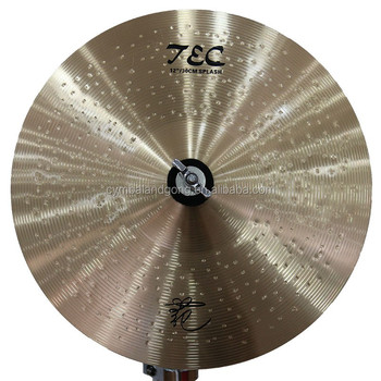 new b8 hot sale tongxiang cymbals semi-lathed surface