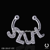 Hot Sales Nickel Free Brass Nose Rings Hoop