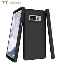 2 in 1 tpu+pc back cover case for samsung galaxy note 8 case