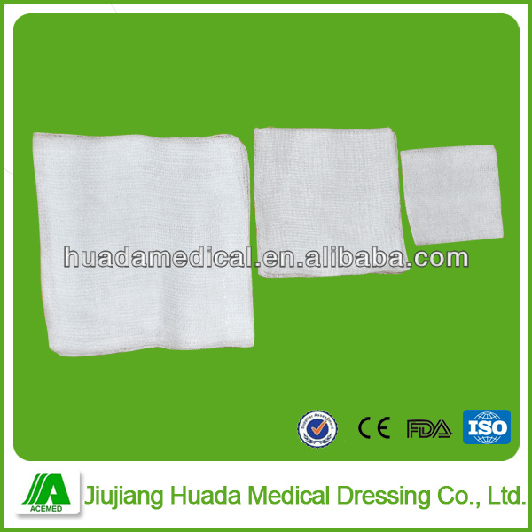 Surgical emergency sterile pack gauze swabs/sponges for hospital