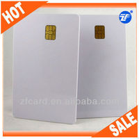 Rewritable CR80 SLE5528/SLE5542 contact smart card for identification
