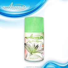 Air freshener spray green world