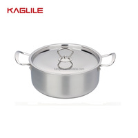 Non Stick Tri Ply Stainless Stee