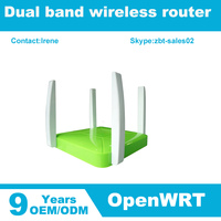 high power preloaded openWRT wireless router