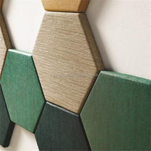 Eco-friendly high quality acoustic 3d wall panel