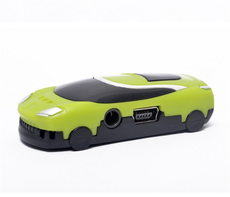 Portable Mini toy car card Usb Stick Mp3 Music Player