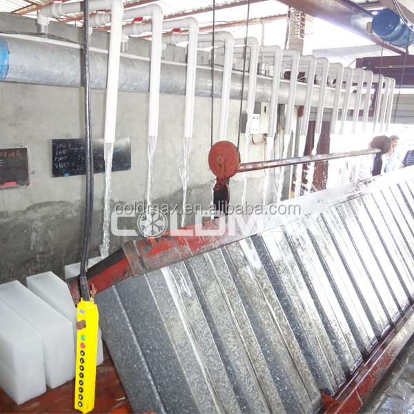 CE certification 100T ice block making machine used for ice factory