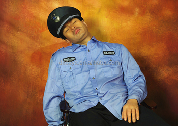 Sleeping Security Lifelike Full Size Silicone Wax Figure