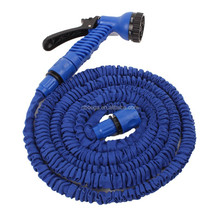 Spray Nozzle Expander Hose Pipe 25 FT/50FT/75FT with Free Gun Garden Hose
