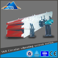 Banana Type Vibrating Screen for Building Material