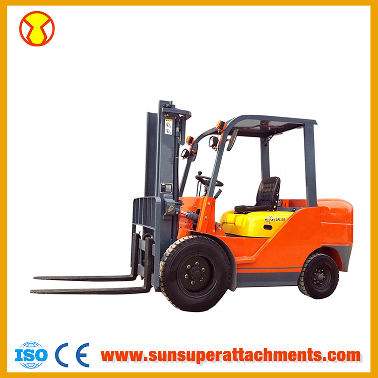Manufacture Diesel Forklift 2000kgs Load Capacity Forklift Types