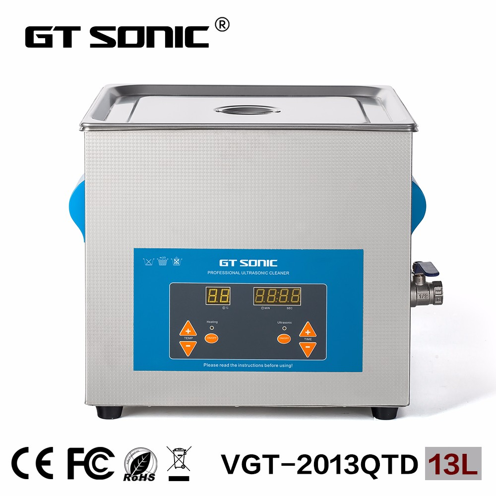 VGT-2013QTD 13l 300W ultrasonic carburetor cleaning machine with factory price