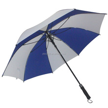 "30"" large clear fiberglass umbrella golf"