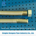 304 316L material stainless steel flexible helical welded hose