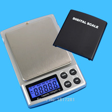 1000g x 0.1g Weighing Scale LCD Display Mini Electronic Digital Jewelry pocket Balance Weight