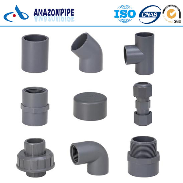 High quality PVC Pipes and pvc fittings for water supply/irrigation/drainage