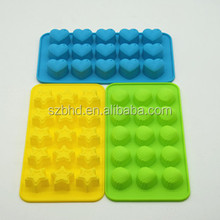 FDA Silicone Chocolate Candy Jelly Molds Custom Silicone Baking Mold