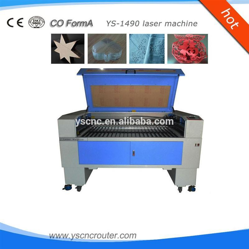 wood leather cutter engraver new condition co2 cnc mini laser cutting machine