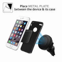 Vesany supply 360 degree rotating mini magnetic air vent car cell phone holder