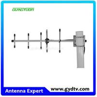 824-960mhz 890-960MHz 8dbi -10dBi High Gain Directional Dual Polarization gsm cellular Yagi Antenna