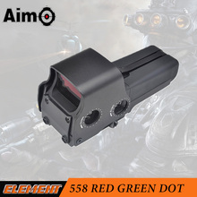 AO5064 Element Aim-O 558 Red/Green Dot Sight air soft hunting scope