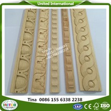 Chinese CNC wood carved moulding