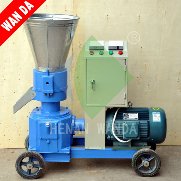 Raw materials wide chicken animal feed processing machine