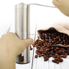 Stainless Steel Manual Conical Burr Coffee Grinder/coffee grinder mill/ manual coffee grinder