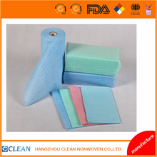 Disposable non-woven dishcloth/household nonwoven wipes/kitchen wiping cloth---Spunlace