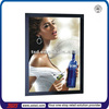 TSD-LB005 Best sale outdoor wine advertising super slim led light box/led photo frame/led super thin light box