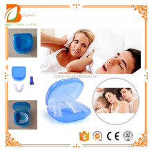Snore Stopper Stop Snoring Solution As Seen On TV Anti Snore Mouthpiece Tray Sleep Apnea Mouthguard