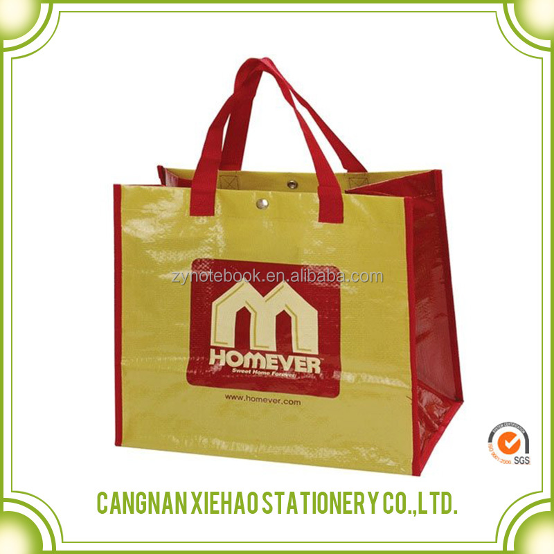 Cheapest advertising foldable pp non woven shopping bag