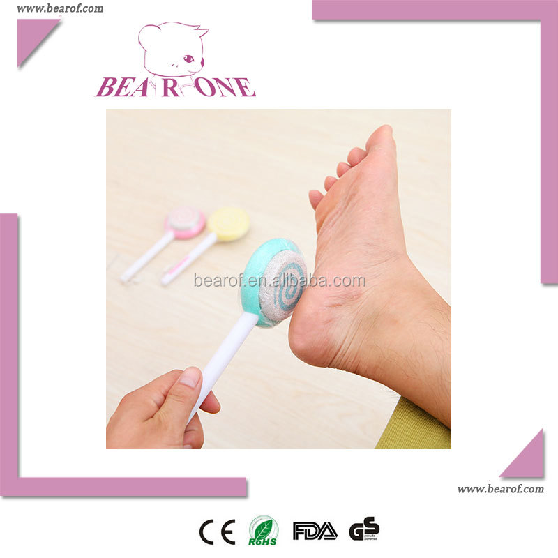 Colors Cute Candy Foot Exfoliating Scrub, Nursing, smooth Foot Skin