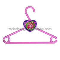 Children Use Non Slip Swivel head3D Lenticular Printing plastic hanger