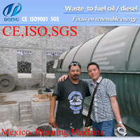 Wast recycling project!! waste plastic recycling machine, waste plastic to oil machine