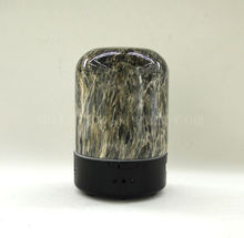 Lovely Black Ceramic Marble Finish Scent Diffuser Aroma Diffuser Gift Set Mini Humidifier